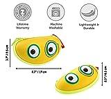 ZIPIT Beast Glasses Case/Storage Box, Yellow