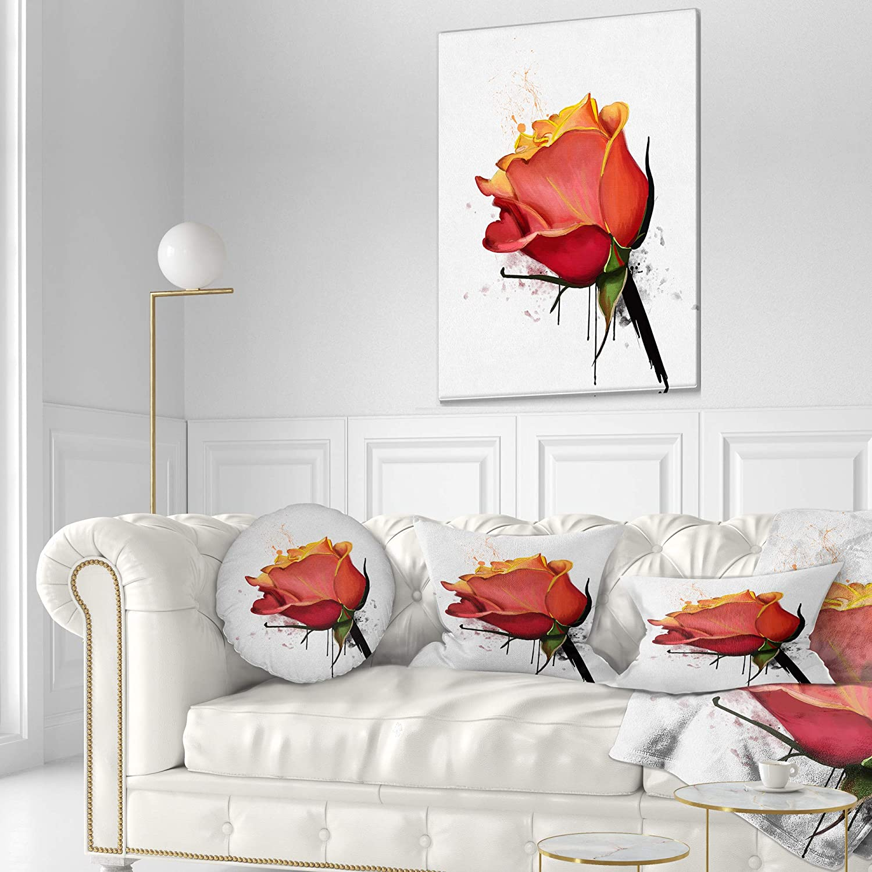 Sofa Throw Pillow 20 Round Insert Printed On Both Side Designart Cu13612 20 20 C Isolated