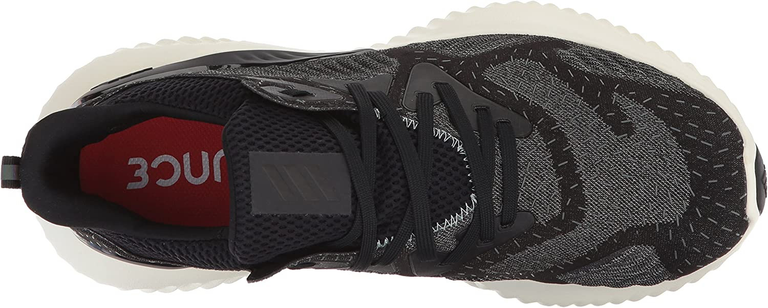 adidas Alphabounce Beyond m Running Shoe Core Black/Core Black/Ash Green