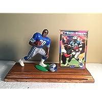 $39 » Barry Sanders Detroit Lions 1992 Starting Lineup Figure Custom Wood Plaque