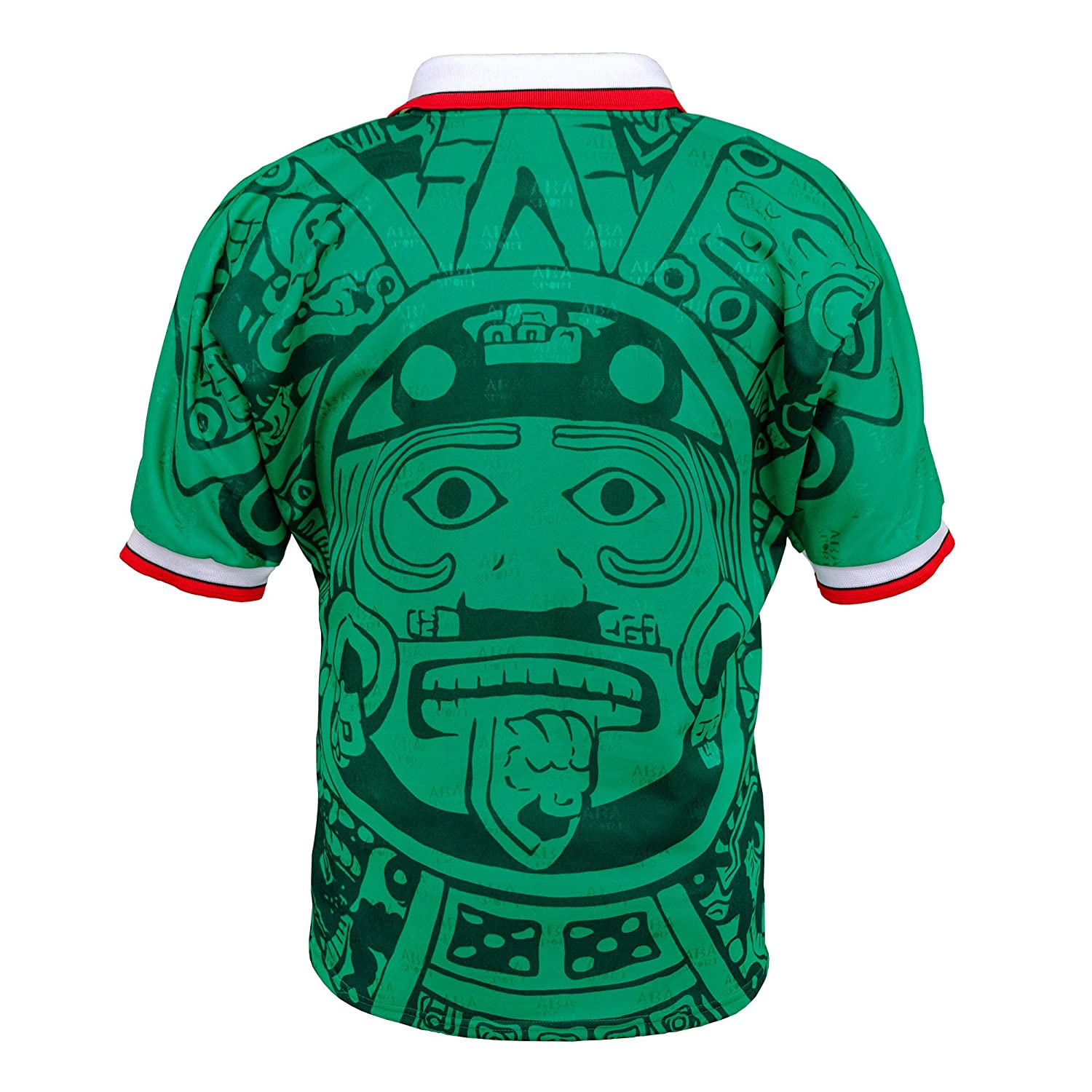 wholesale dealer 2920b d1619 ABA Sport Mexico Authentic 1998 World Cup Soccer Jersey