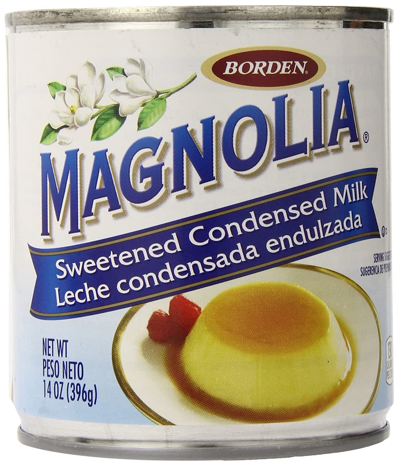 Amazon.com : Magnolia Sweetened Condensed Milk, 14 Ounce (Pack of 24) : Grocery & Gourmet Food