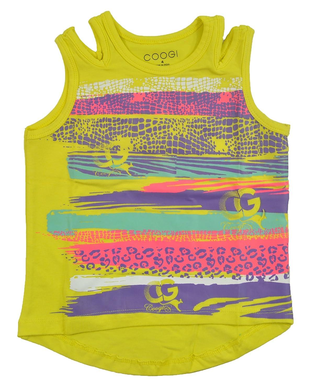 Coogi Big Girls Cool Yellow Tank