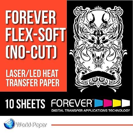 FOREVER Flex-Soft (No-Cut) Laser/LED papel de transferencia ...