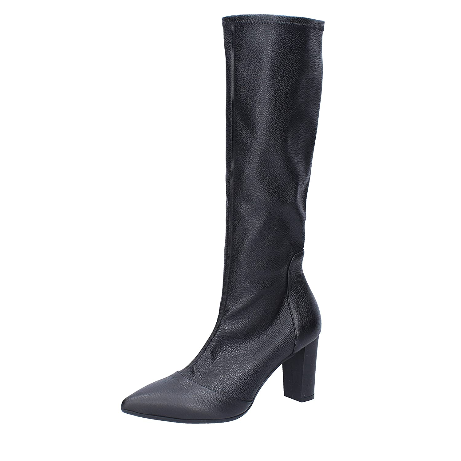 - LE MARRINE Boots Womens Leather Black