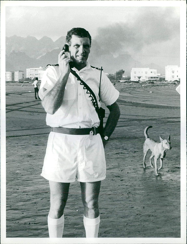 Fotomax Vintage Photo of Lieutenant Robert Easson.
