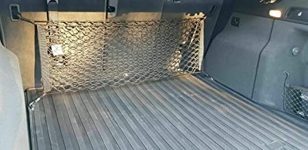eAccessoriesUSA Rear Trunk Area Space Vertical Envelope Style Storage Organizer Web Mesh Luggage Bungee Compartment Cargo Net for Jeep Grand Cherokee 2011 2012 2013 2014 2015 2016 2017 2018 2019 2020