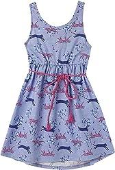 OFFCORSS Toddler Girls Sleeveless Cute Summer Dresses | Vestido Corto para Niña
