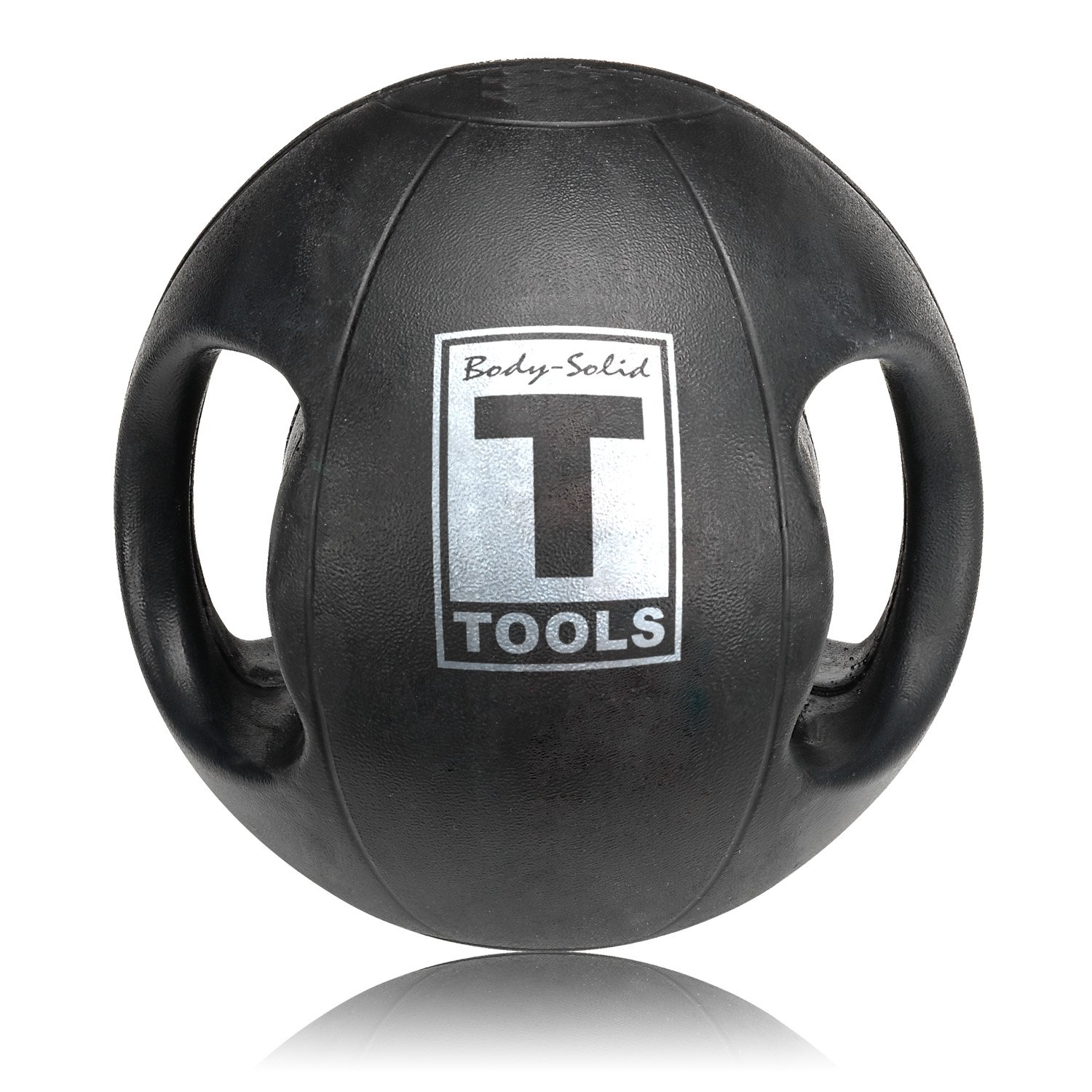 Body Solid Tools BSTDMB25 Dual Grip 25 lb Medicine Ball by Body-Solid