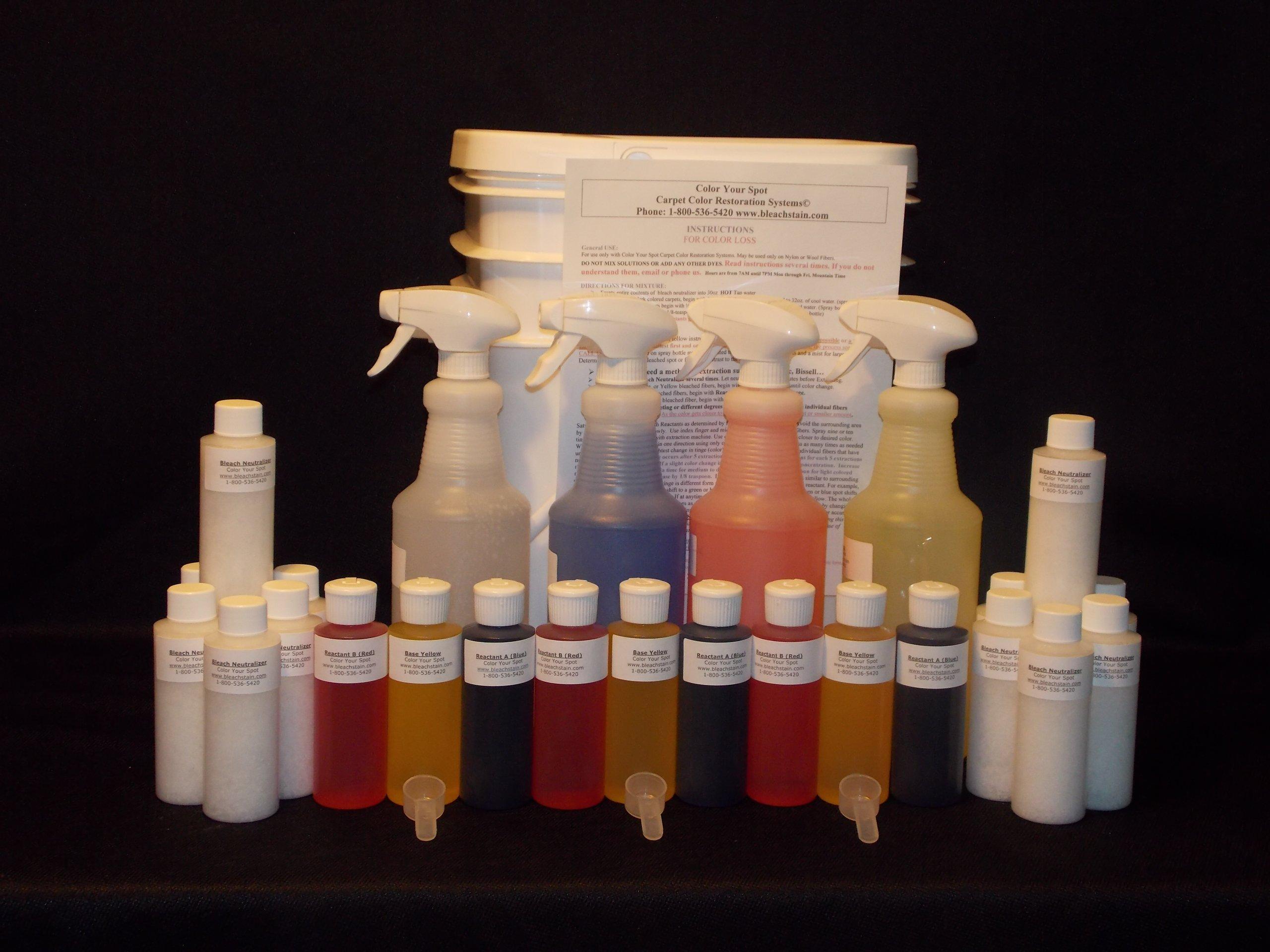 Professional Bleach Stain Carpet Repair Kit by bleachstain