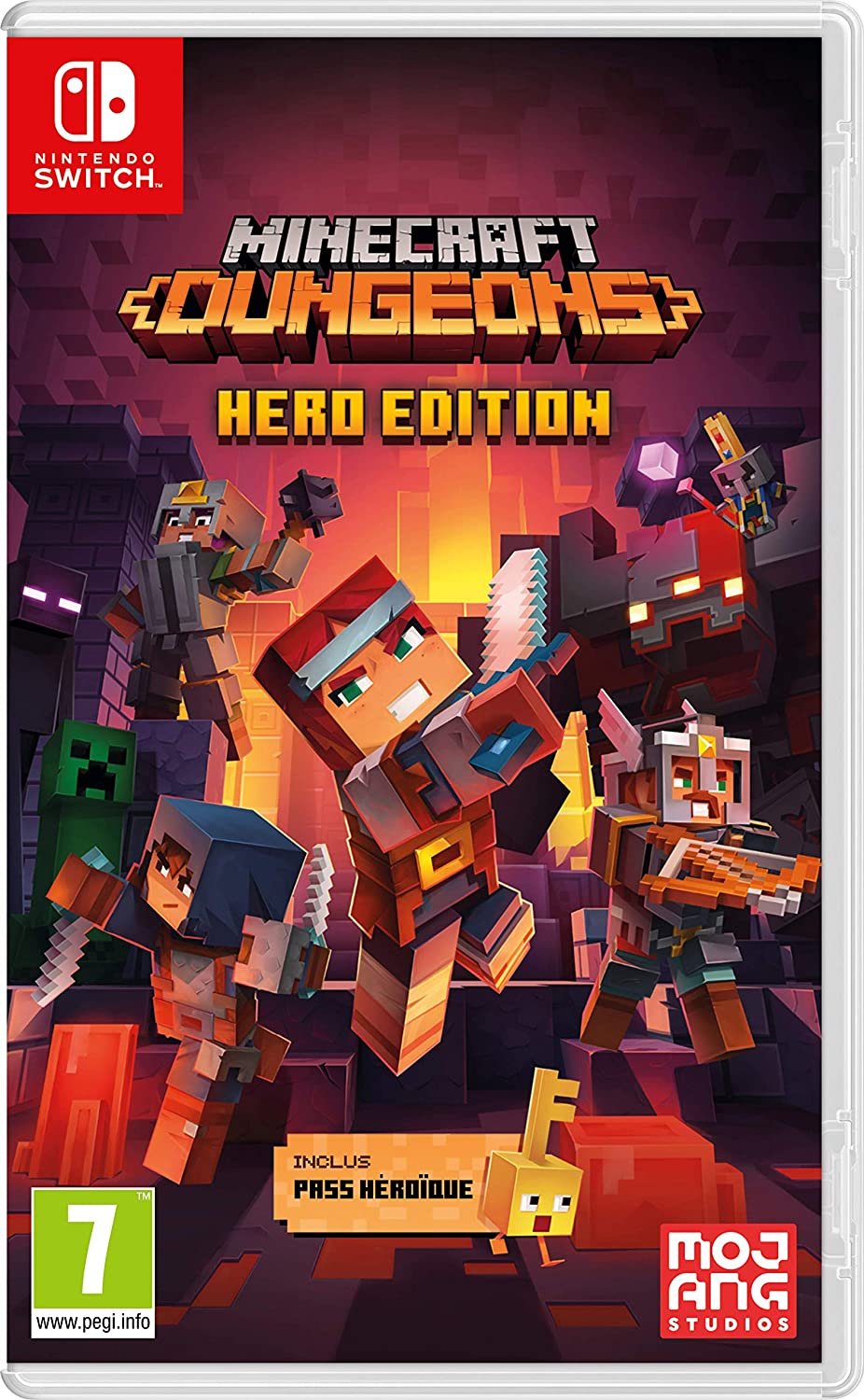 Minecraft Dungeons - Hero Edition - Switch | Mojang. Programmeur