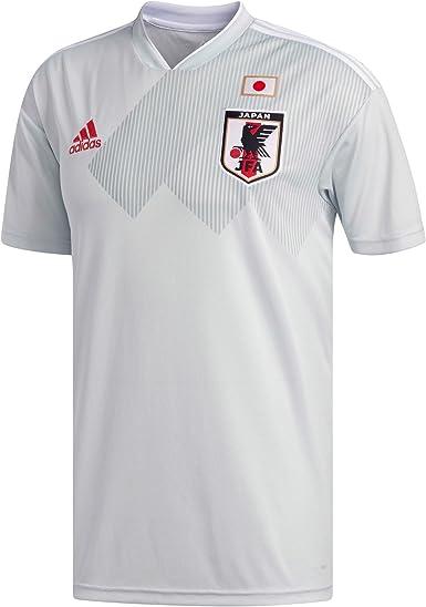 adidas Japón Réplica Camiseta, Hombre, BR3627, Clgrey/White, Extra-Small: Amazon.es: Ropa y accesorios