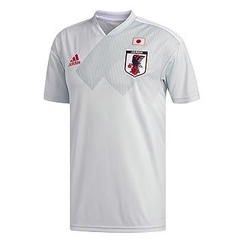 Adidas Japón Réplica Camiseta, Hombre, BR3627, Clgrey/White, XX-Large