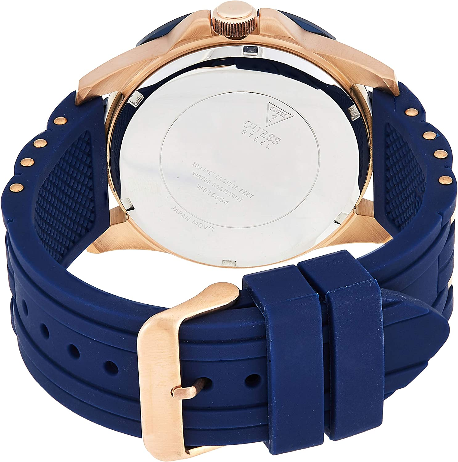 Guess Montre homme Sport steel silicone (W0366G4) taille Taille unique cm