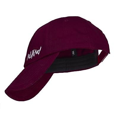 c8d03095b4c2b Nebelkind Unisex Snapback Cap Dad Kappe Weinrot One Size  Amazon.de ...