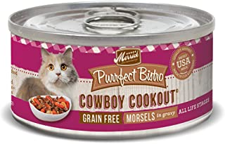 product image for Merrick Purrfect Bistro Grain Free Wet Cat Food (Case of 24)