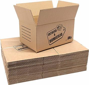 Chely Intermarket, Cajas de cartón para mudanzas 30x20x15cm (Pack 20uds) Disponible en varias dimensiones | Canal simple de alta calidad | Fabricadas en España | 100% reciclables (30x20x15-2,46): Amazon.es: Oficina y papelería