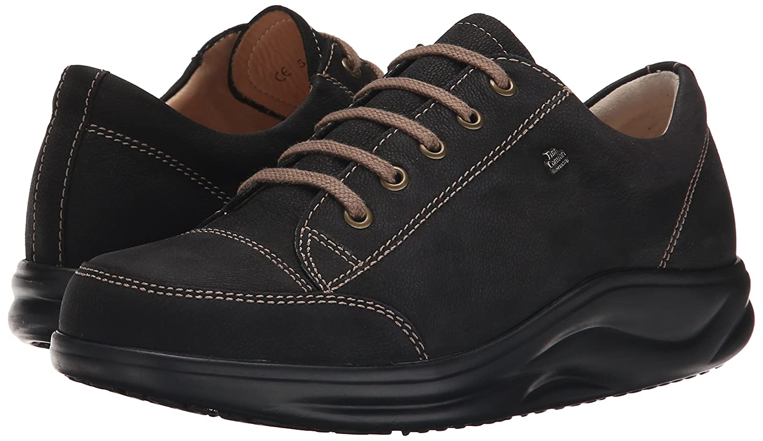 Finn Comfort Women's Ikebukuro Oxford B003DTLKWM 11  M US/ 8.5 UK|Black Rodeobuk