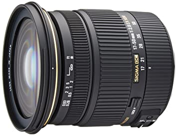 Lente Sigma 17-50mm f 2.8 EX DC OS HSM Zoom para Canon APS-C  Amazon ... e6b38a047a