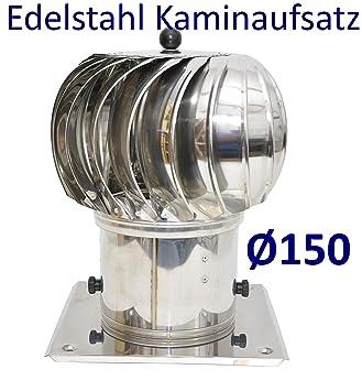 profiter de la livraison gratuite profiter de gros rabais 60% de réduction Extracteur de cheminée tournant En acier inoxydable Ø 150 mm Aération de  conduit de cheminée