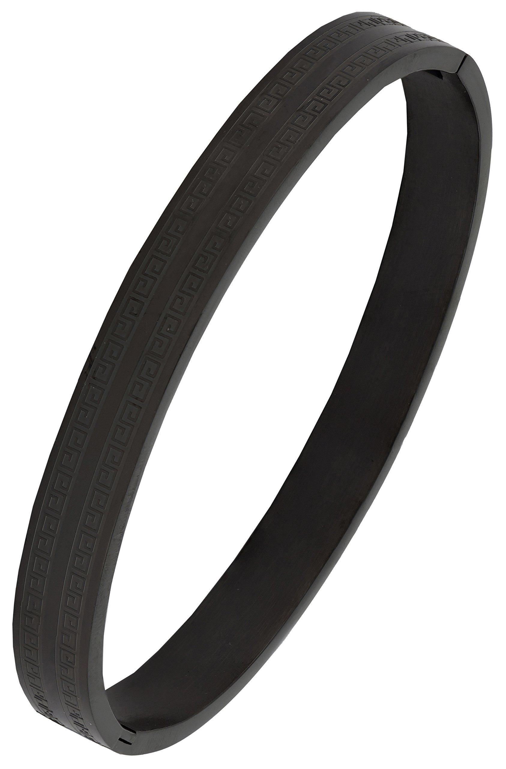 Zivom® Italian Designer 316L Surgical Stainless Steel Openable Bangle Kada Bracelet Men Boys product image