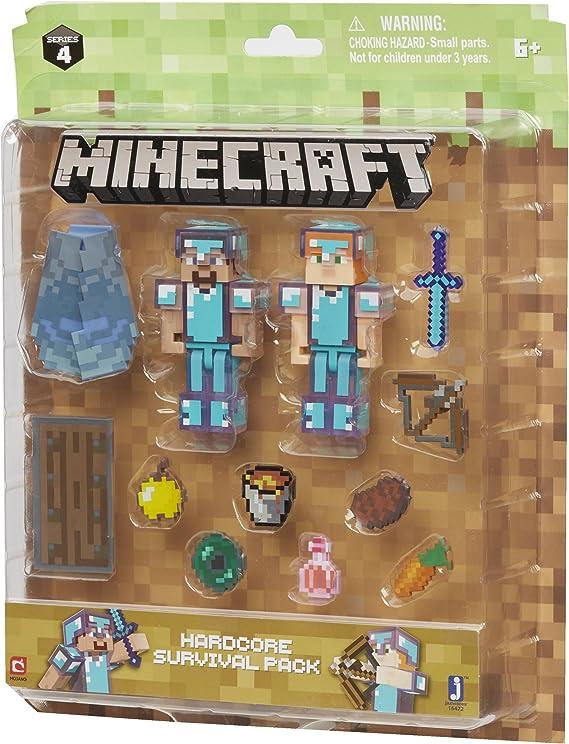 Minecraft Hardcore Supervivencia Pack: Amazon.es: Juguetes y juegos