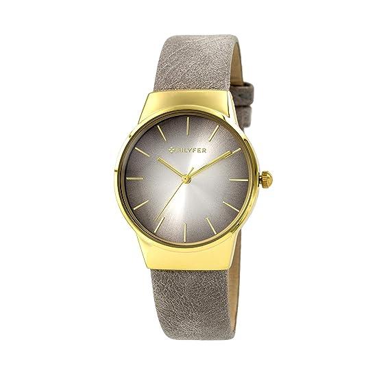 Reloj Bilyfer para Mujer con Correa en Plateada y Pantalla en Plateada 1F650-G: Amazon.es: Relojes