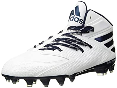 cheap for discount 0bd4d 9df78 adidas Performance Mens Freak X Carbon Mid Football Shoe,  WhiteWhiteCollegiate Navy