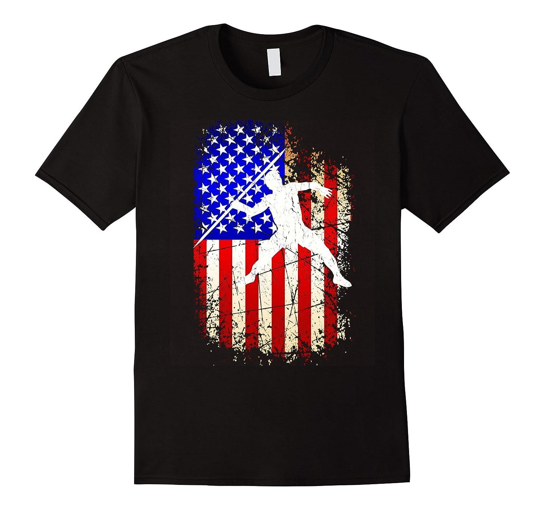 4th of July Javelin Shirt Patriotic American Flag T-Shirt-PL