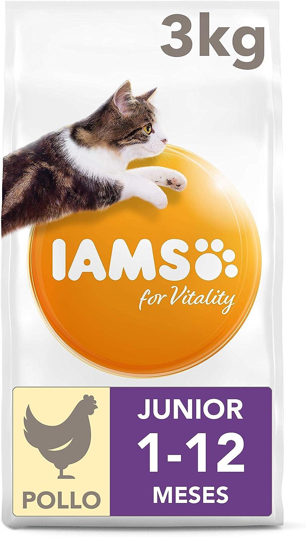 IAMS for Vitality Alimento para Gatitos con pollo fresco, 3 kg