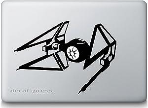 Star Wars TIE Fighter -Sticker Decal MacBook, Air, Pro All Models