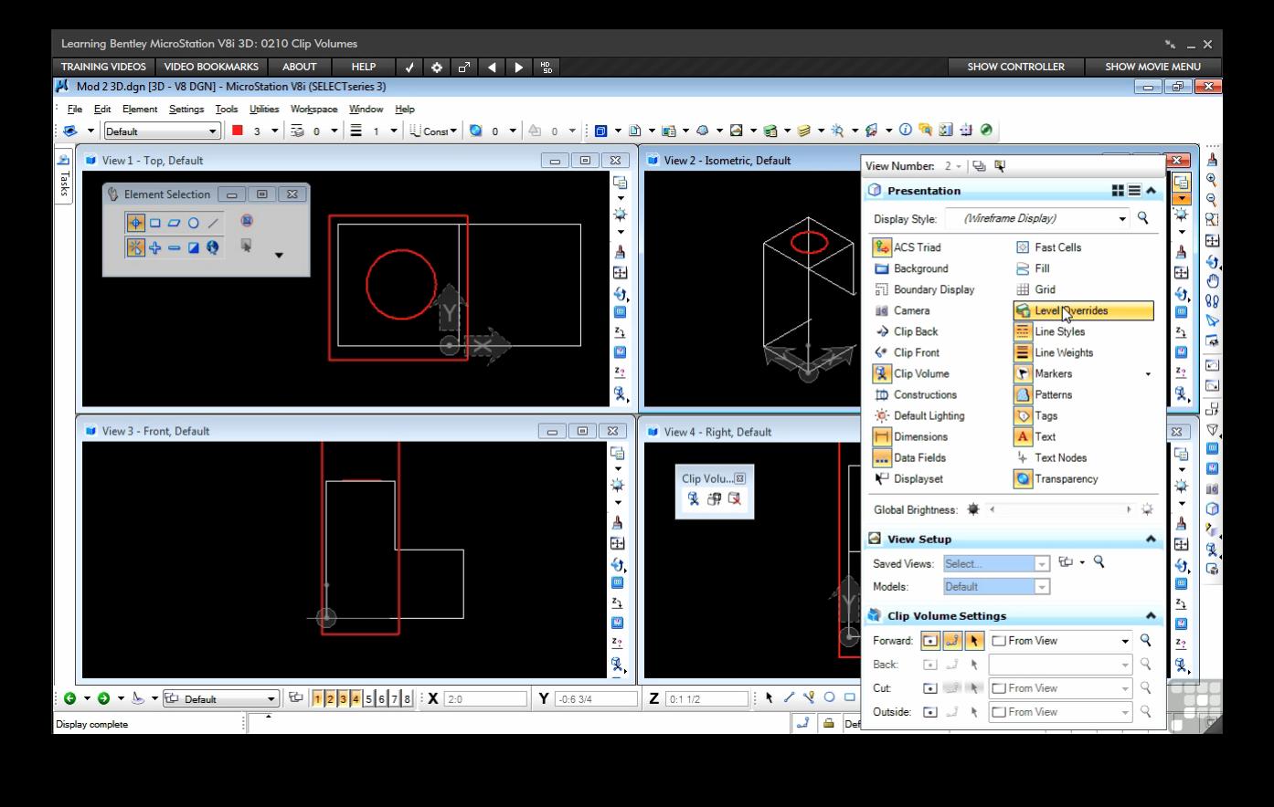 Bentley microstation v8i 3d online code premium for Online 3d software