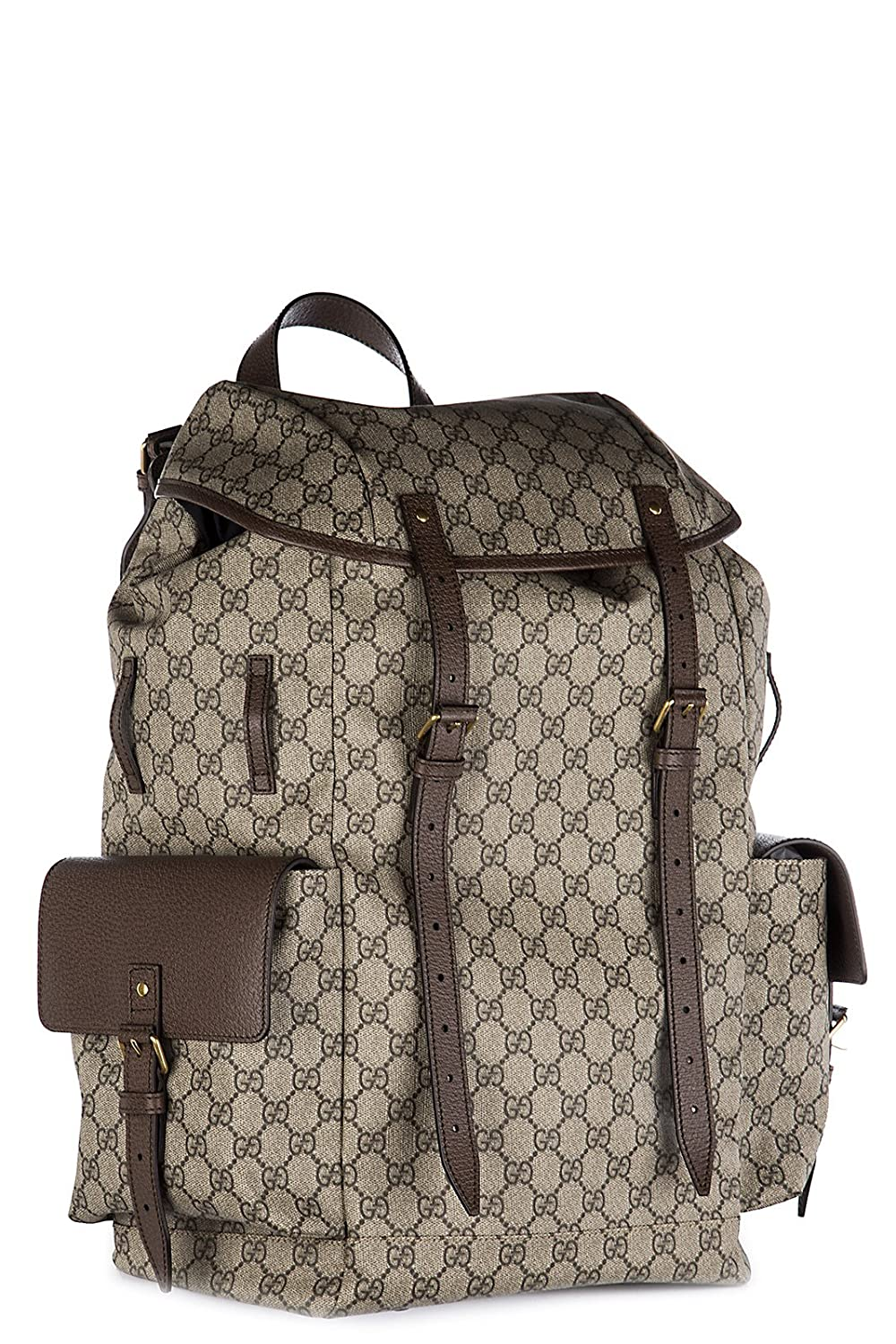 4e30597dc030 Gucci men s rucksack backpack travel GG supreme beige  Amazon.co.uk  Shoes    Bags