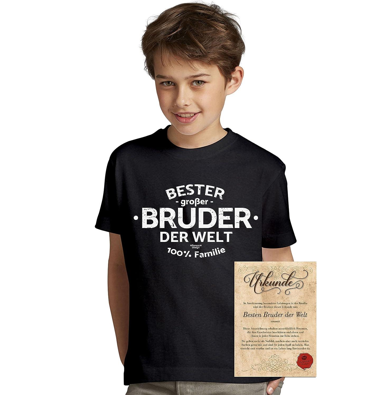 Soreso Design Bester Großer Bruder der Welt : Geschenk-Set Kinder T ...