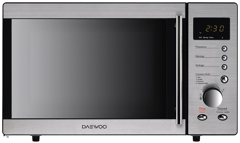 Daewoo – kor-8b4r – Microondas 800 W 23L de acero inoxidable ...