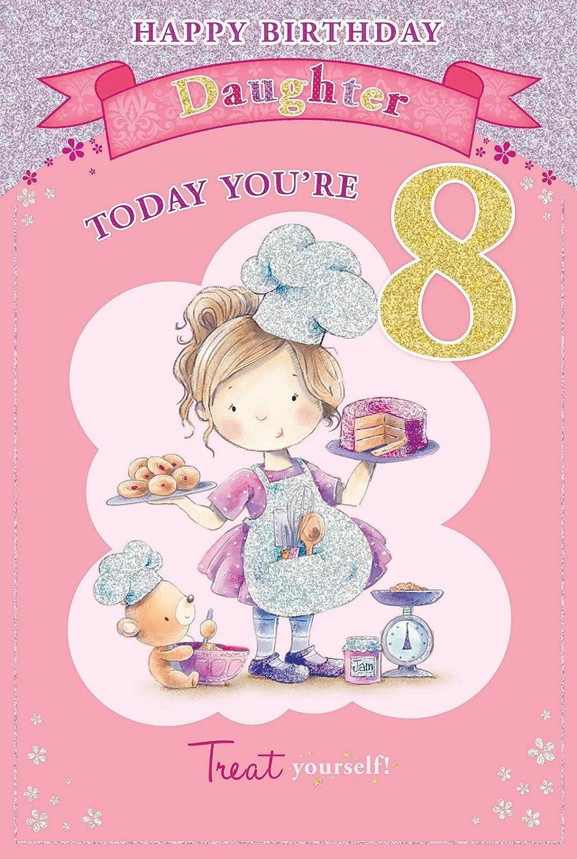 Happy 8th birthday daughter