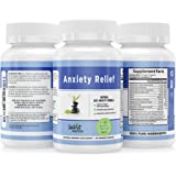 Premium Quality Natural Anxiety Relief Supplement ~ Supports Relaxed Mood ~ Calming Stress and Anxious Feelings ~ Promotes Cognitive Health ~ Panic Relief ~ Anti-Anxiety Mood Enhancer