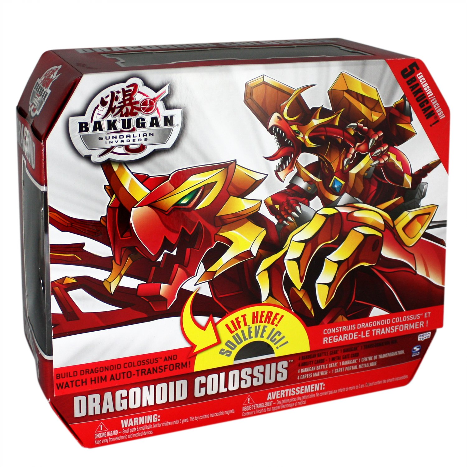Bakugan Dragonoid Colossus