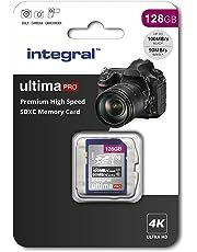 128Gb SD Card 4K Ultra-HD Video Premium High Speed Memory Card Microsdxc Up To 100MB/S V30 UHS-I U3 C10, by Integral