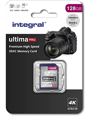 6671a84bd0750 Integral 128GB SD card Premium High Speed memory SDXC Up to 100MB s V30 UHS