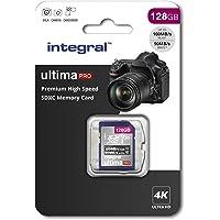 128GB SD Card 4K Ultra-HD Video Premium High Speed Memory SDXC Up To 100MB/S V30 UHS-I U3 C10, by Integral