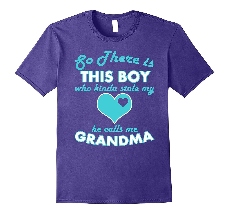 This Boy Calls Me Grandma T-Shirt Clothing Apparel-TH