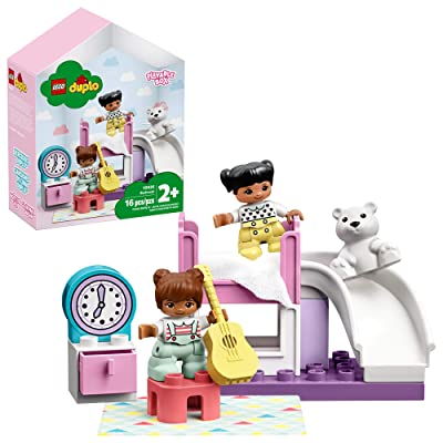 LEGO DUPLO Town Bedroom 10926 Kids' Pretend Play Set, Developmental Toddler Toy, Great for Kids' Learning and Play, New 2020 (15 Pieces): Toys & Games