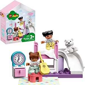 LEGO DUPLO Town Bedroom 10926 Kids' Pretend Play Set, Developmental Toddler Toy, Great for Kids' Learning and Play, New 2020 (15 Pieces)