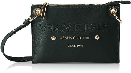 82be67d7808 Versace Jeans Ee1vsbbs6, Women s Shoulder Bag, Black (Nero), 2x16x24 ...