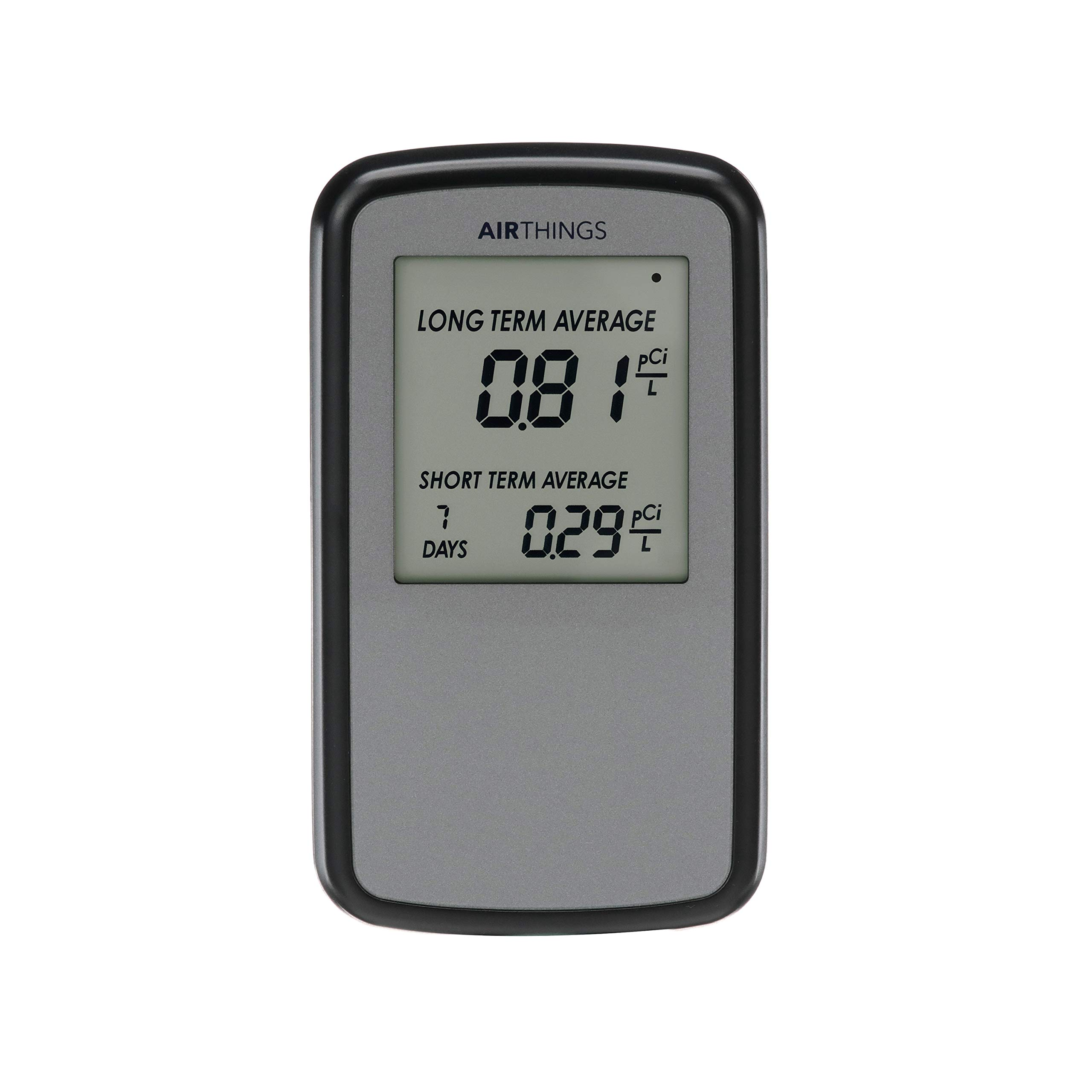Corentium Home Radon Detector by Airthings 223 Portable, Lightweight, Easy-to-Use, (3) AAA Battery Operated, USA Version, pCi/L by Airthings
