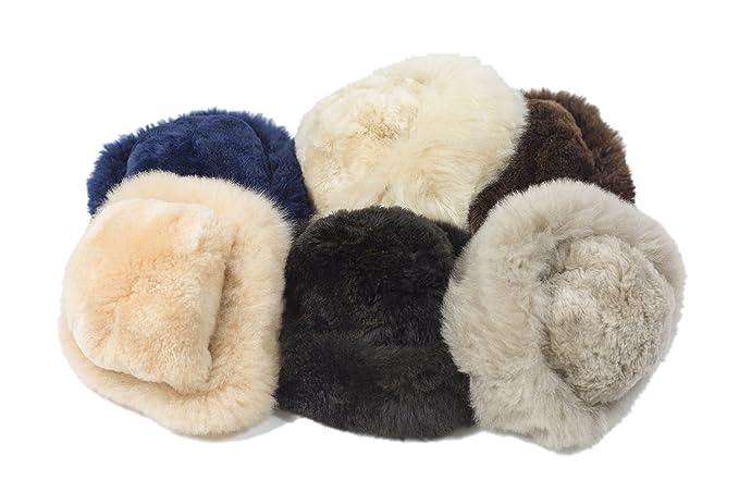 b5eb5bdb1f731 Luxury Alpaca Fur Hat (Black)  Amazon.co.uk  Clothing