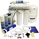 Finerfilters Domestic Home Undersink 5 Stage Reverse Osmosis System With Fluoride Removal (50GPD), For The Very Best Drinking Water