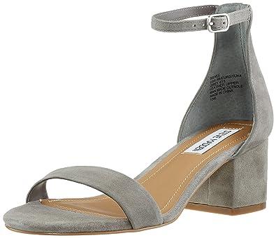 7e90ab8b4a Steve Madden Damen Irenee Offene Sandalen Grau (Grey) 42 EU: Amazon ...