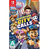 Paw Patrol The Movie Adventure City Calls - Nintendo Switch Games and Software